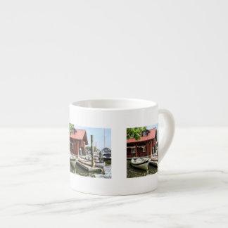 Rowboats by Founders Park Alexandria VA Espresso Cups