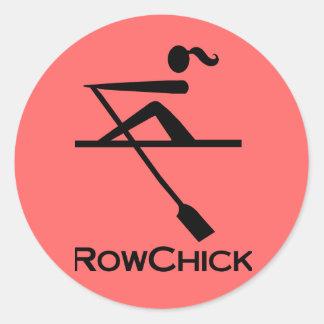 RowChick Logo Stickers