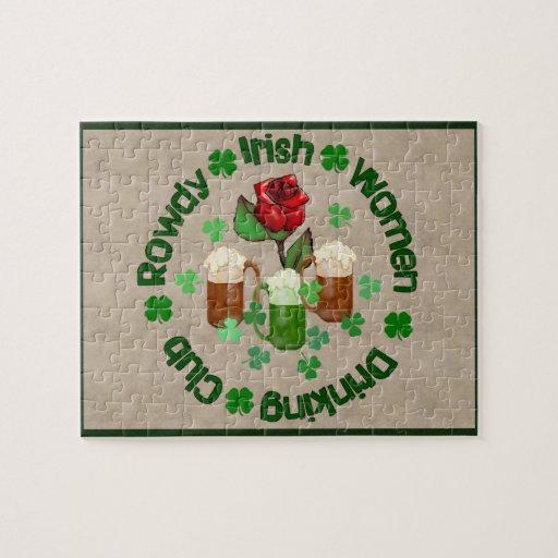Rowdy Irish Women Puzzle