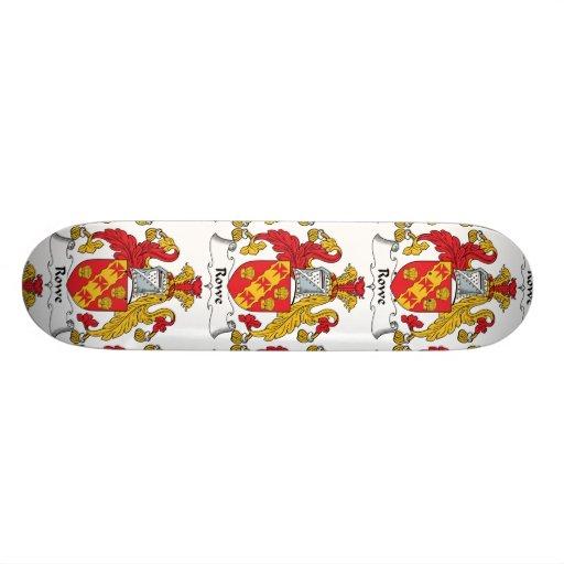 Rowe Family Crest Skateboard