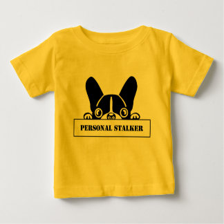 Rower Baby Stalker Frenchie Baby T-Shirt