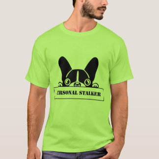 Rower Man Stalker Frenchie T-Shirt