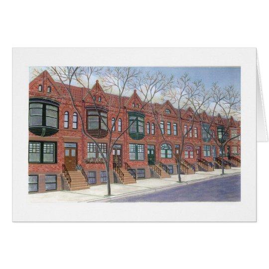Rowhouses Card