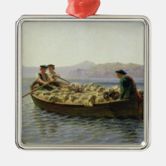 Rowing-Boat, 1863 Christmas Ornament