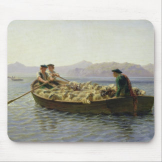 Rowing-Boat, 1863 Mouse Pad