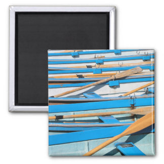 Rowing boats at Henley on Thames UK Magnet