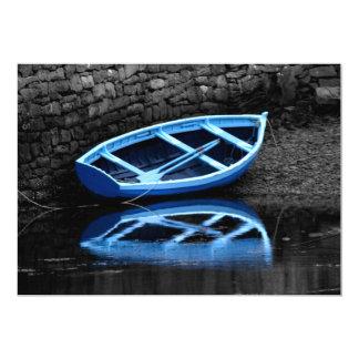 Rowing Boats Invitation