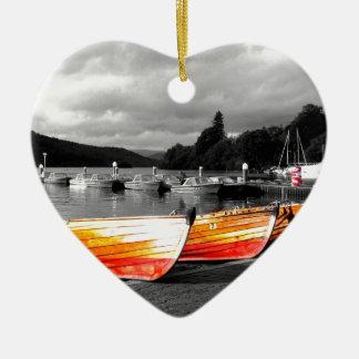Rowing Boats.JPG Christmas Ornament
