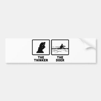 Rowing Bumper Sticker