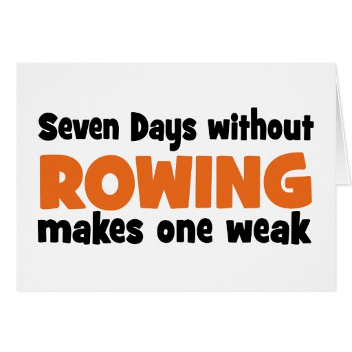 rowing cards