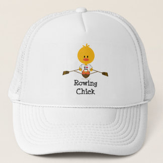 Rowing Chick Hat