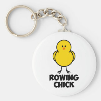 Rowing Chick Keychains