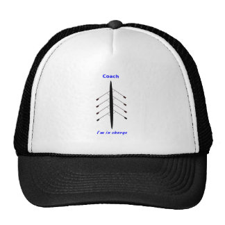 Rowing coach in charge sport cap