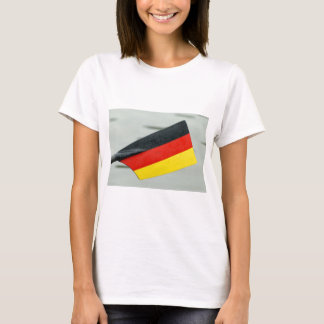 Rowing oar with German flag T-Shirt