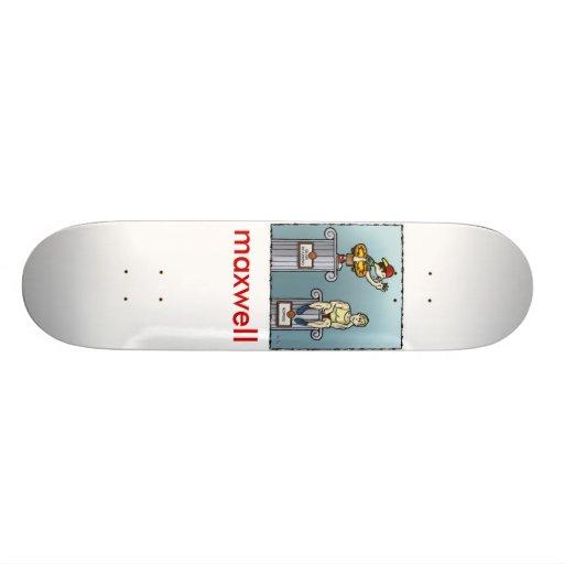 rowing-skateboarding, maxwell skate deck