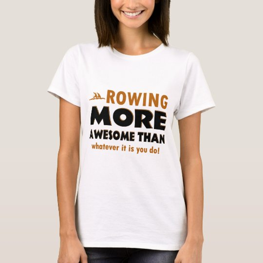 Rowing sports designs T-Shirt