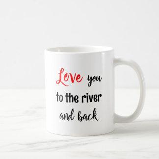 Rowing valentine love you quote sport coffee mug