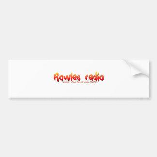Rowles Radio Network Bumper Stickers