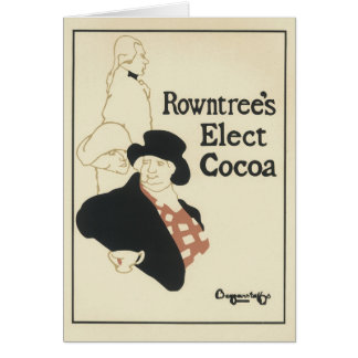 Rowntree's Elect Cocoa Greeting Cards