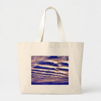 Rows of Clouds Jumbo Tote Bag