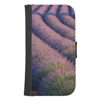 Rows of lavender in Provence Samsung S4 Wallet Case