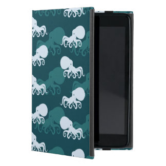 Rows Of Octopus Pattern Cover For iPad Mini