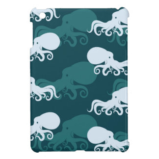 Rows Of Octopus Pattern iPad Mini Covers