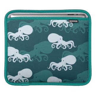 Rows Of Octopus Pattern iPad Sleeve
