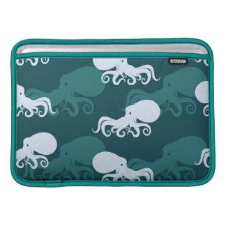 Rows Of Octopus Pattern MacBook Sleeve