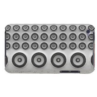 Rows of speakers Digital Barely There iPod Cases