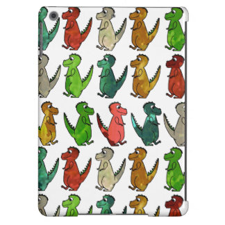Rows of T-Rex Cover For iPad Air