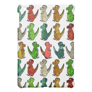 Rows of T-Rex Case For The iPad Mini
