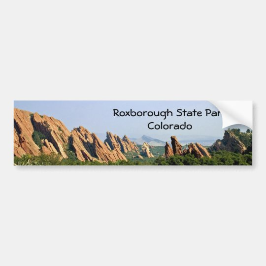 Roxborough State Park - Colorado Bumper Sticker