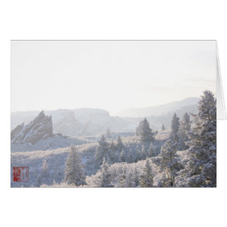 Roxborough White Out (A) Card