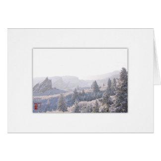 Roxborough White Out (C) Card