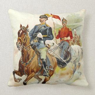 Roxbury Horse Guards 1895 Throw Pillows
