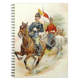 Roxbury Horse Guards 1895 Note Books
