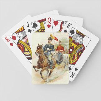 Roxbury Horse Guards 1895 Poker Deck