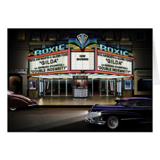 Roxie Picture Show Card