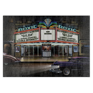 Roxie Picture Show Cutting Board