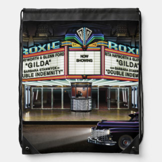 Roxie Picture Show Drawstring Bag