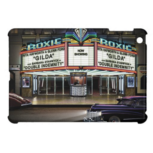 Roxie Picture Show iPad Mini Covers