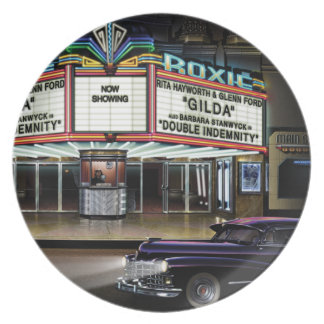 Roxie Picture Show Plate