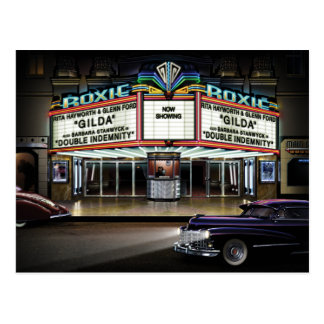 Roxie Picture Show Postcard