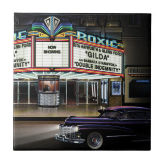 Roxie Picture Show Small Square Tile