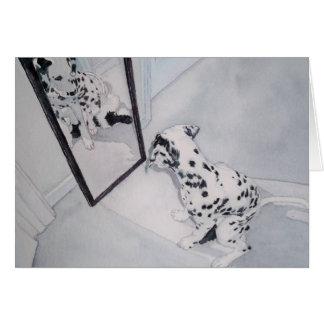 Roxie the Dalmatian Card