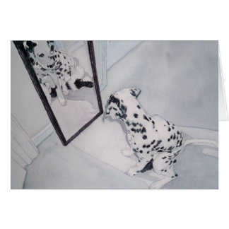Roxie the Dalmatian Note Card