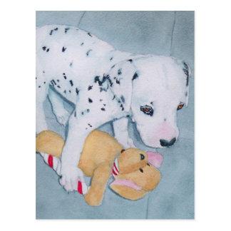 Roxie the Dalmatian Pup Postcard