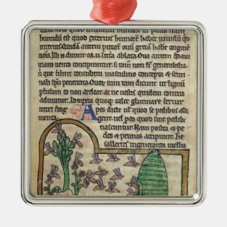 Roy Page of text with illustration of Christmas Ornament