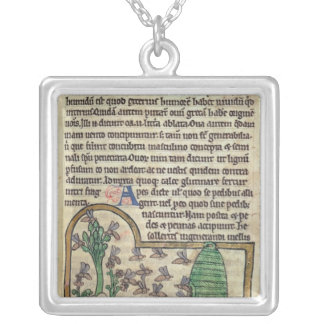 Roy Page of text with illustration of Silver Plated Necklace